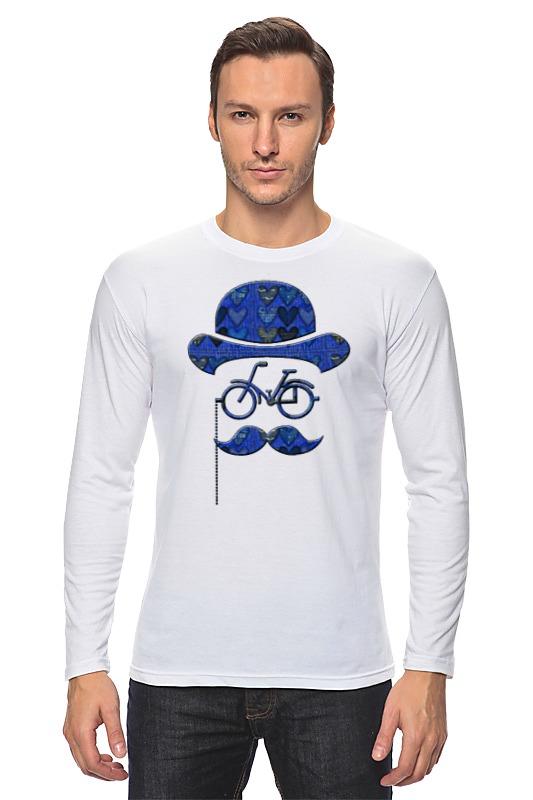 Printio Влюбленный велосипедист лонгслив printio 8 марта