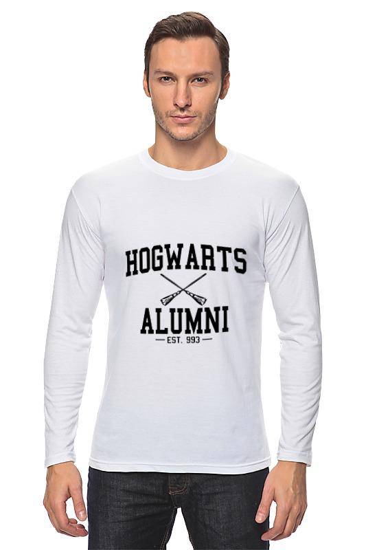 Лонгслив Printio Hogwarts alumni retro harry potter hogwarts hog wax seal stamp copper head diy scrapbooking vintage sealing wedding envelop gift seal