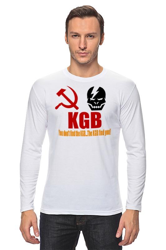 купить Лонгслив Printio Kgb russia по цене 968 рублей