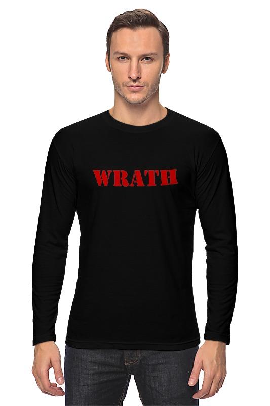 Лонгслив Printio Wrath футболка wrath и natural selection