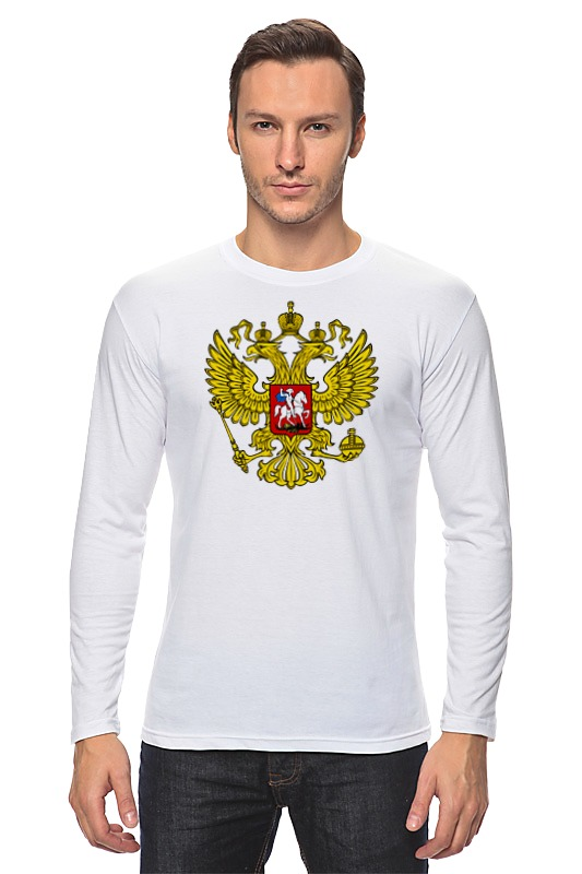 Лонгслив Printio Russian federation