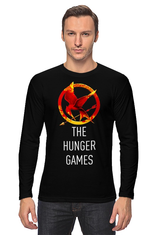 Лонгслив Printio Голодные игры (the hunger games) go games the sudoku challenge