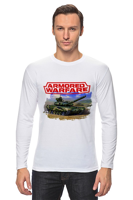 Лонгслив Printio Armored warfare