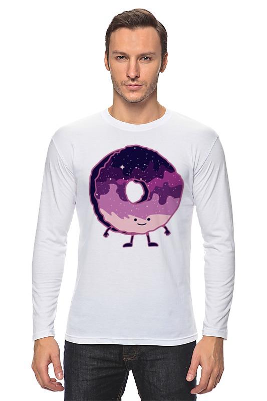 Лонгслив Printio Космический пончик (space donut)