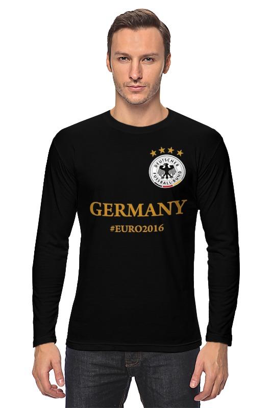 Лонгслив Printio Сборная германии по футболу евро 2016 лонгслив printio с пробегом по германии