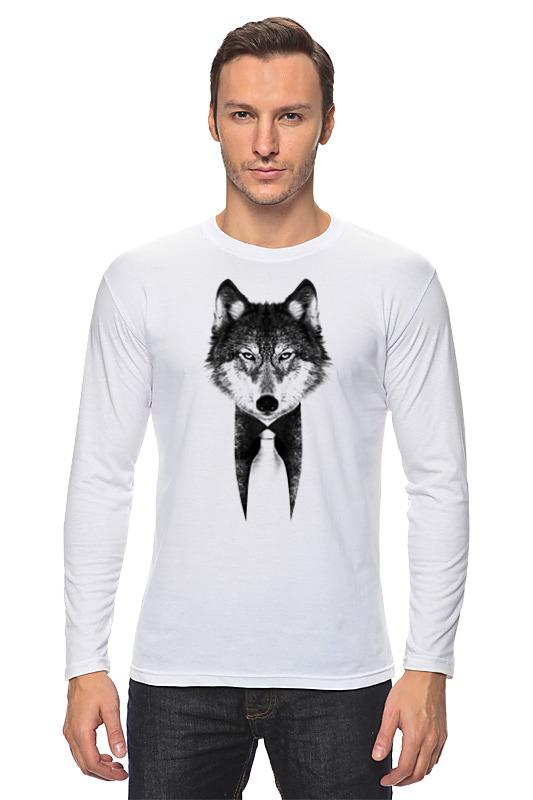 Лонгслив Printio Мистер волк лонгслив printio мистер волк