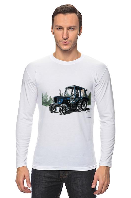 Лонгслив Printio трактор от михаила доманова отсутствует автомир 35 2017