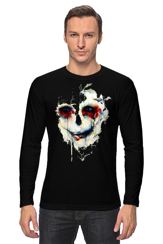 Лонгслив Printio Череп (skull) худи print bar skull