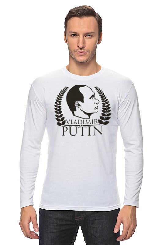 где купить  Лонгслив Printio Vladimir putin  по лучшей цене