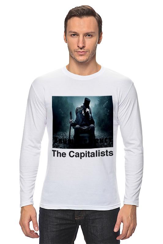 Фото - Лонгслив Printio Капиталист владимир гурвич капиталист