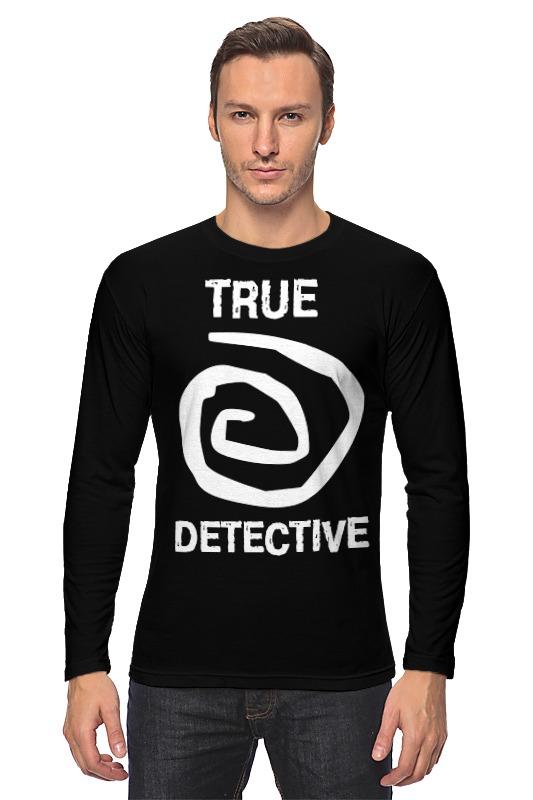 Лонгслив Printio True detective detective cross