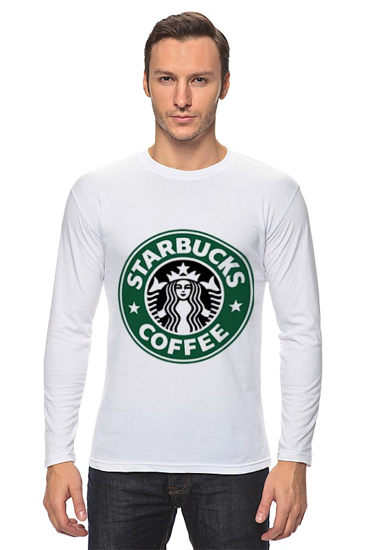 Лонгслив Printio Starbucks coffee сумка printio starbucks coffee
