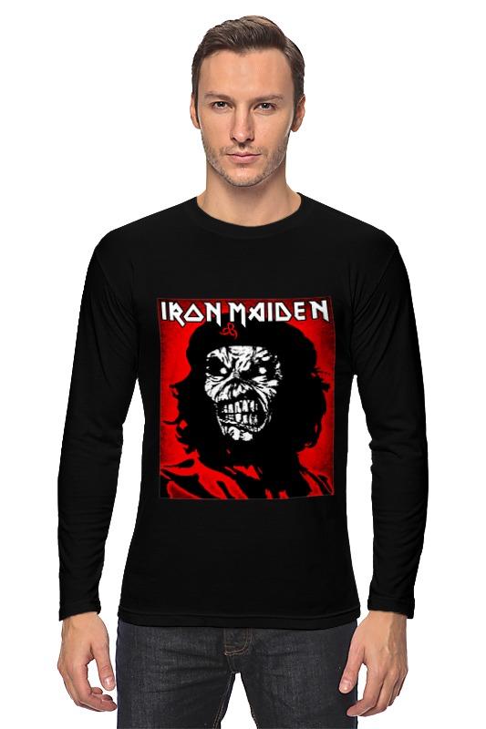Лонгслив Printio Iron maiden band iron maiden iron maiden running free live