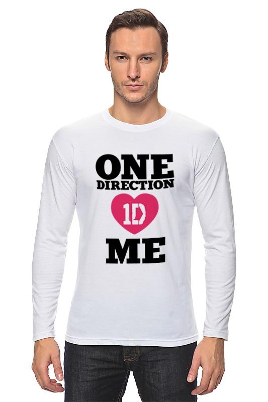 Лонгслив Printio One direction one direction where we are 100