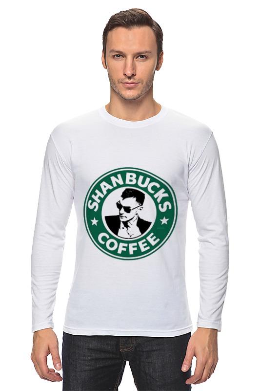 Лонгслив Printio Shanbucks coffee