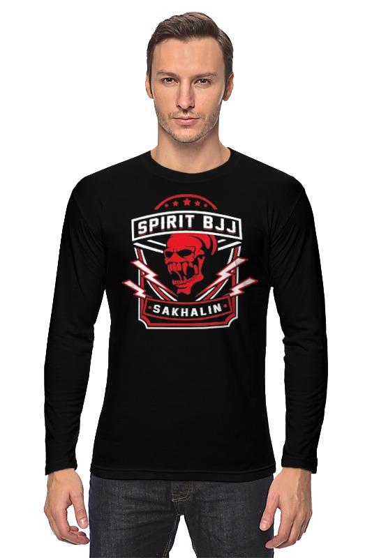 Фото - Лонгслив Printio Spirit bjj sakhalin skull (black) футболка wearcraft premium printio spirit bjj sakhalin skull black