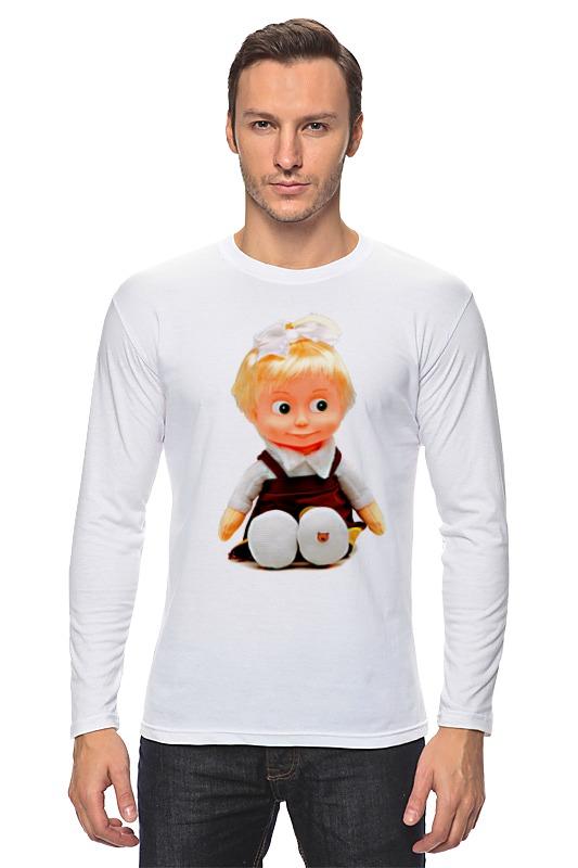 Лонгслив Printio Кукла-девочка маша из мульта. смешная озорная. кукла yako m6579 6