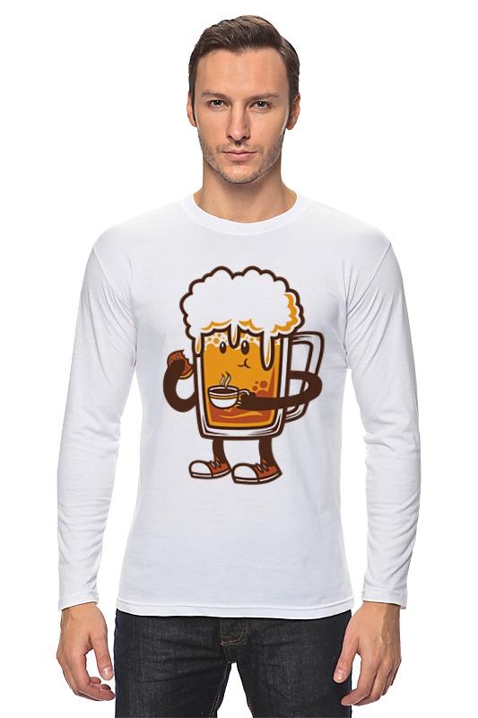 Лонгслив Printio Пиво. лонгслив printio ячмень солод вода пиво