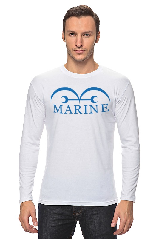 Лонгслив Printio Marine