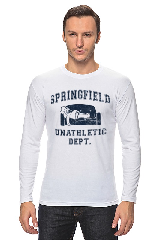 Лонгслив Printio Springfield unathletic dept футболка springfield springfield sp014emrkf75