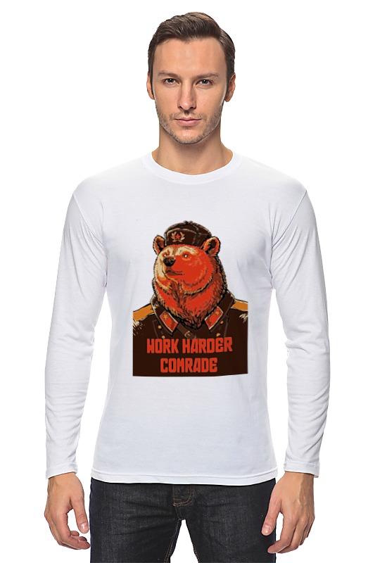 цена на Лонгслив Printio Comrade
