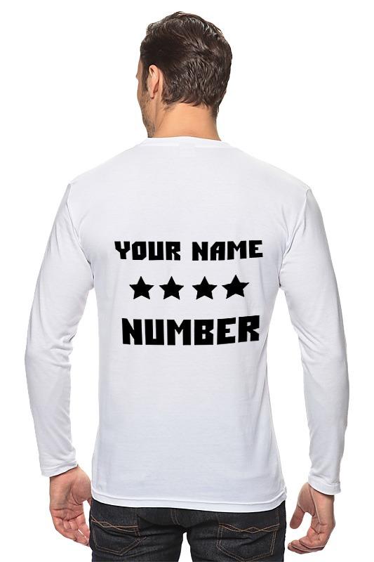 купить Printio Имя фамилия номер по цене 890 рублей