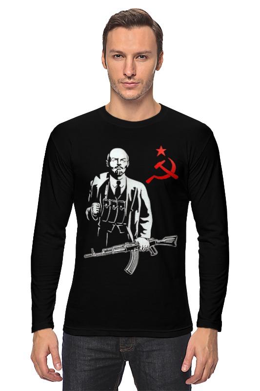 Лонгслив Printio Ленин калашников ак47 брелок калашников фляжка