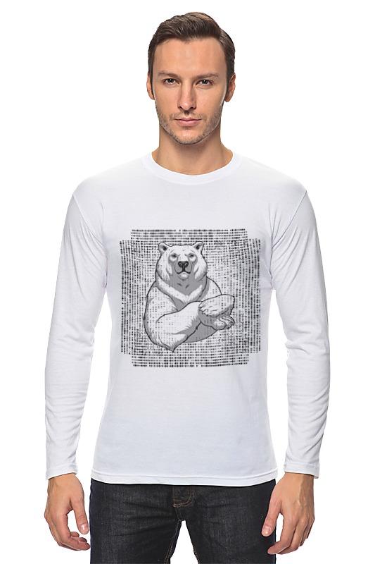 Лонгслив Printio Polar bear стилус polar pp001