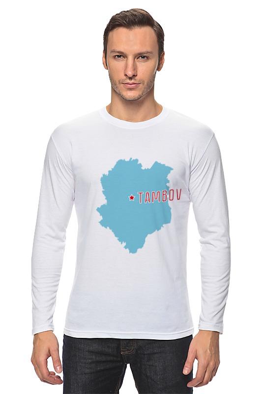 Лонгслив Printio Тамбовская область. тамбов