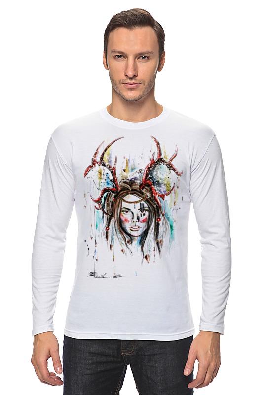 Лонгслив Printio Индианка футболка классическая printio индианка