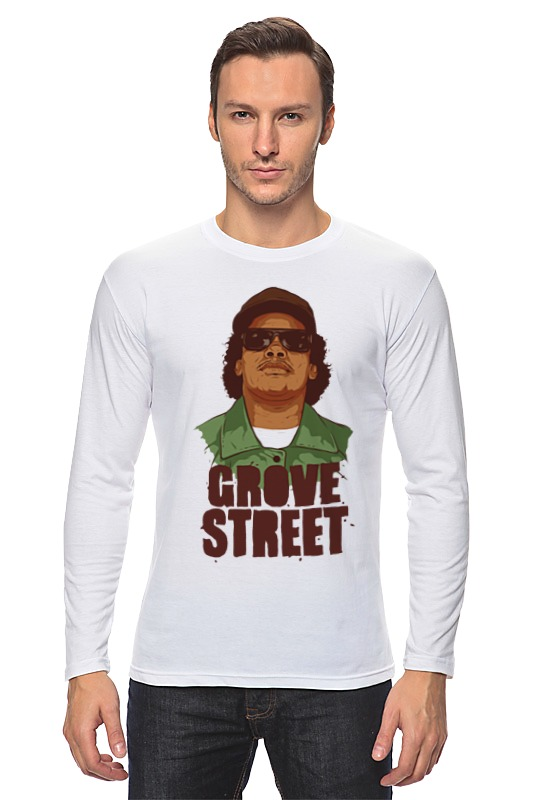 Лонгслив Printio Grove street 4 life макетная плата mcu grove gsr grove