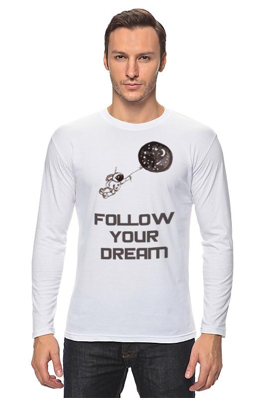 Лонгслив Printio Follow your dream