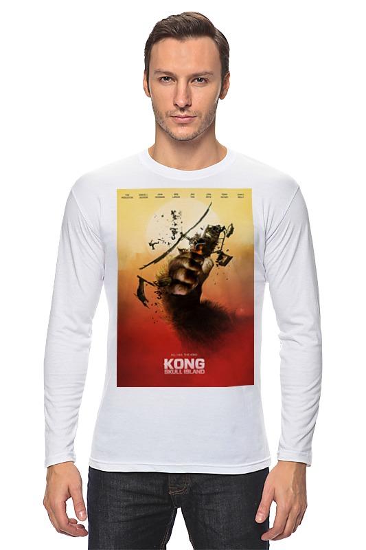 Лонгслив Printio Конг: остров черепа / kong: skull island
