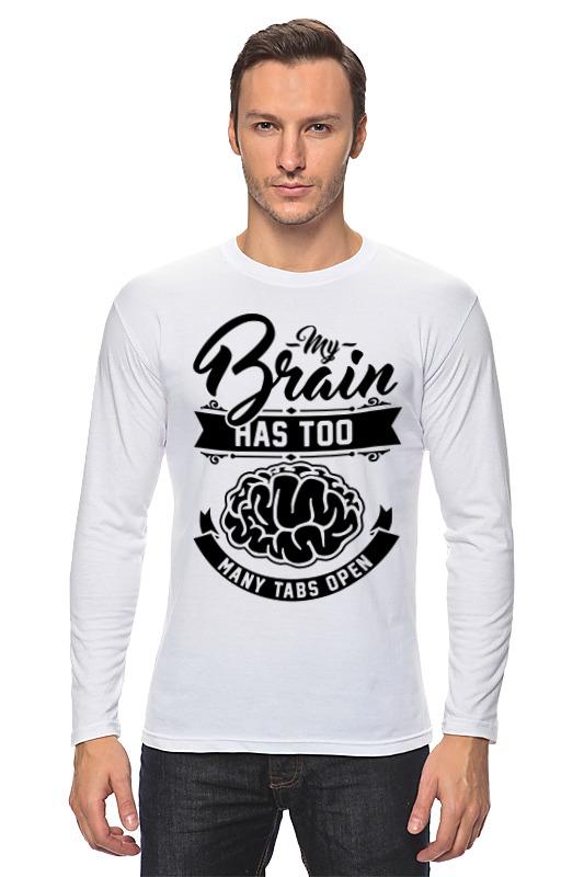 Printio Мозг (brain) лонгслив printio the brain eaters