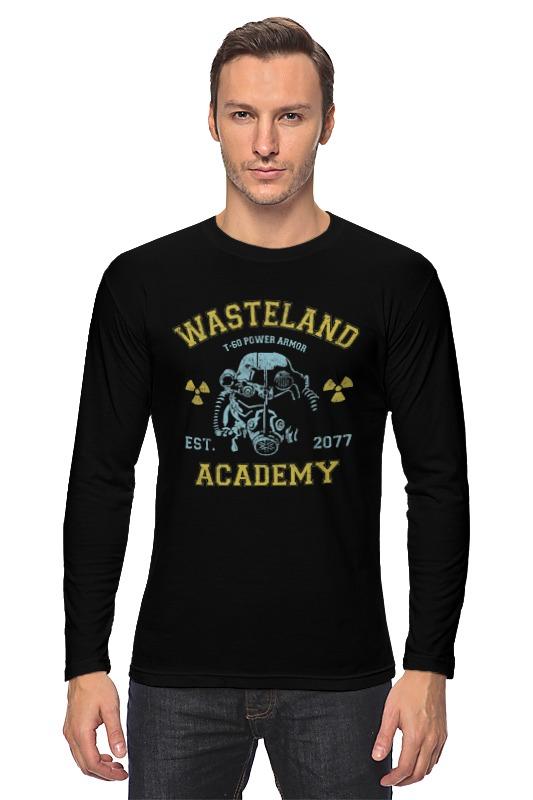 все цены на Лонгслив Printio Fallout. wasteland academy