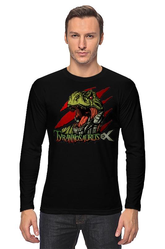 Лонгслив Printio Тираннозавр селиверстова д пер тираннозавр rex