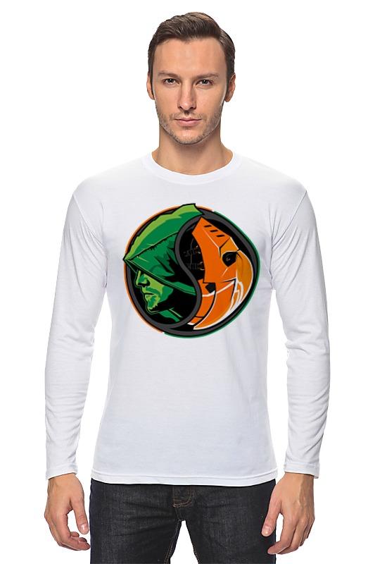 Лонгслив Printio Дефстроук (зеленая стрела) кружка цветная внутри printio зеленая стрела