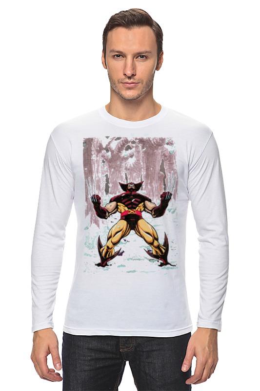 Лонгслив Printio Wolverine. marvel http