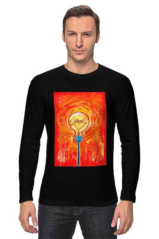 Лонгслив Printio School лампочка криптоновая maglite к арт s4 в блистере 947261