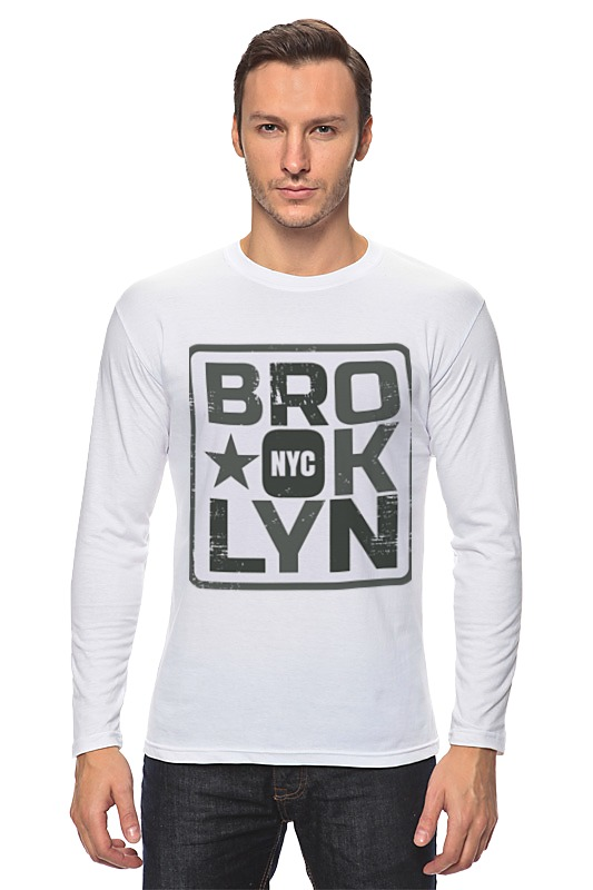 Лонгслив Printio Brooklyn сумка printio brooklyn