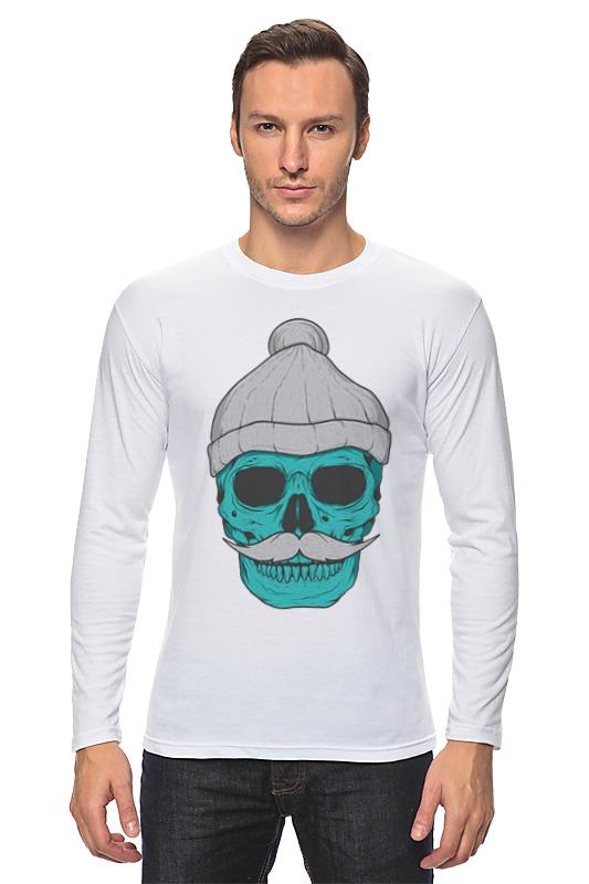 Лонгслив Printio Hipster skull лонгслив printio hipster hunter