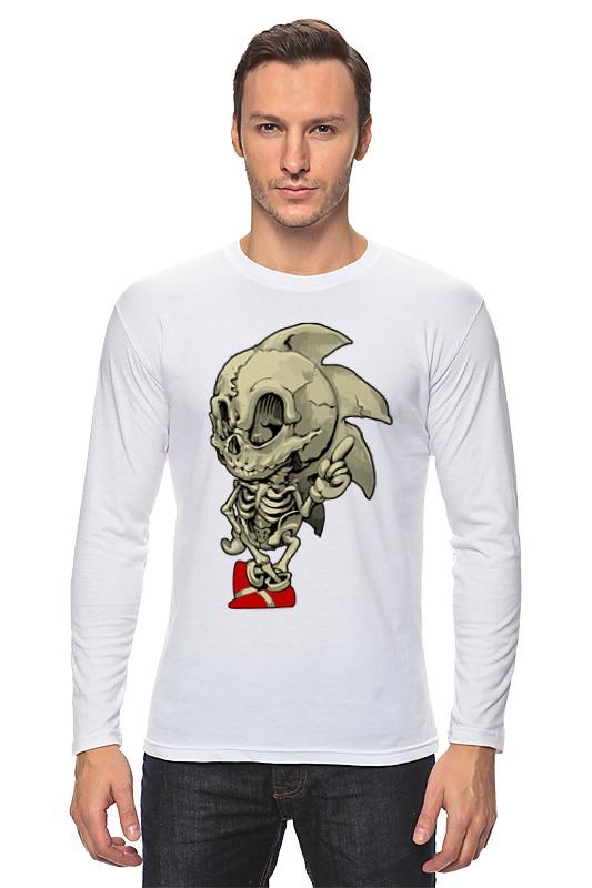 Лонгслив Printio Sonic skeleton лонгслив printio sonic