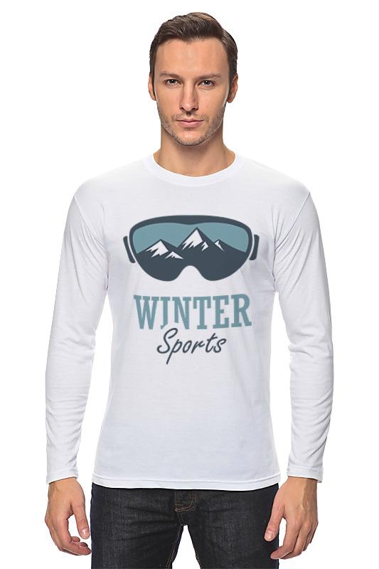 Лонгслив Printio Зимний спорт (winter sport)