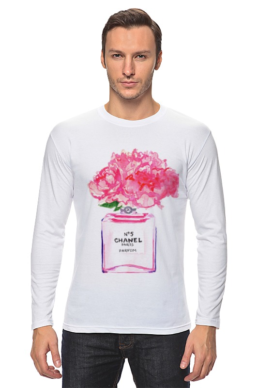 Лонгслив Printio Флакон цветочных духов