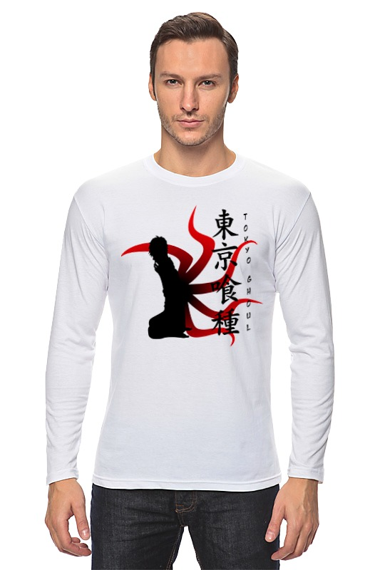 Лонгслив Printio Токийский гуль елена некрасова гиль гуль