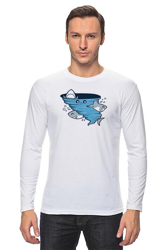 Лонгслив Printio Водоворот акул водоворот чужих желаний