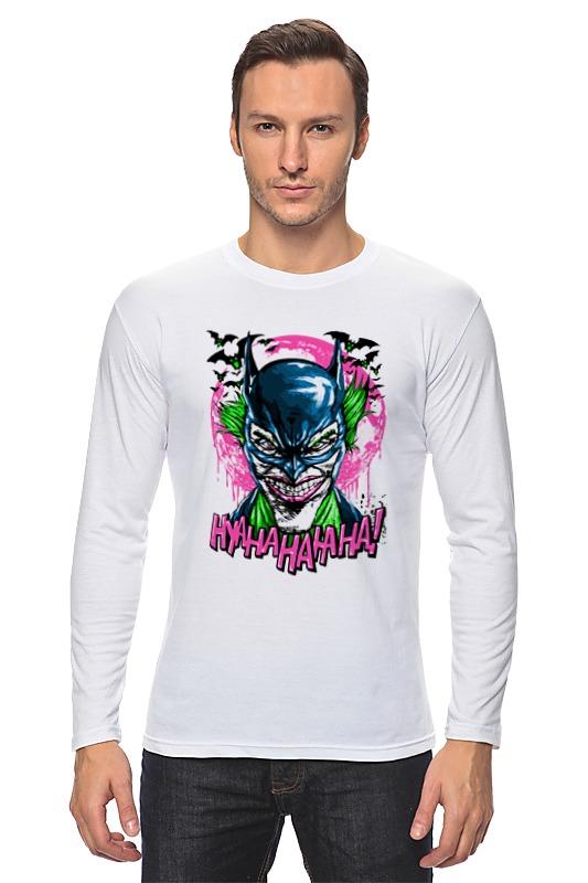 Лонгслив Printio Джокер (бэтмен) лонгслив printio джокер бэтмен