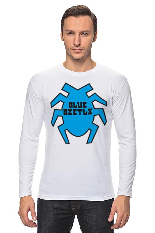 Лонгслив Printio Синий жук футболка стрэйч printio вольскваген жук