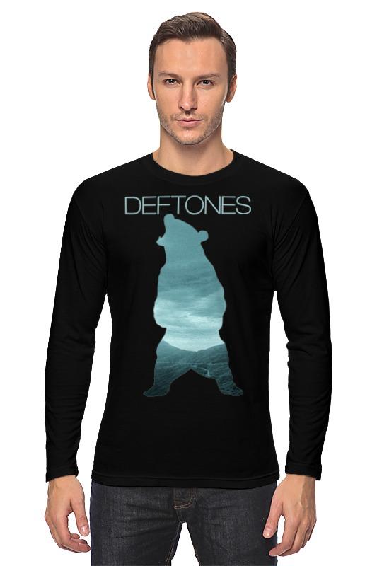 Лонгслив Printio Deftones медведь deftones deftones deftones