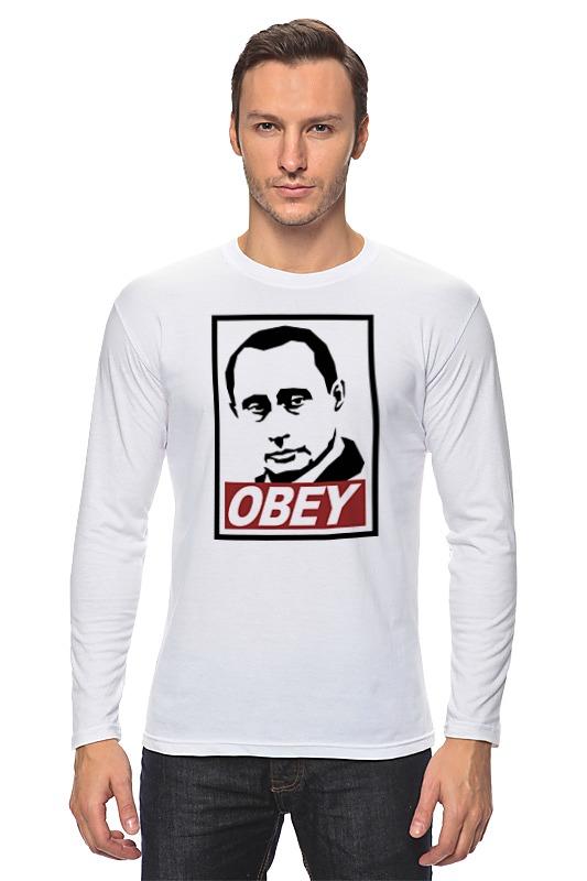 Лонгслив Printio Путин obey